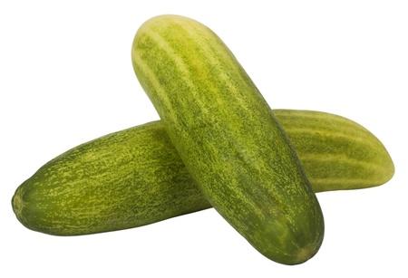 cucumbers: Close-up of cucumbers Stock Photo