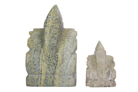 Close-up of Lord Ganesha figurines photo