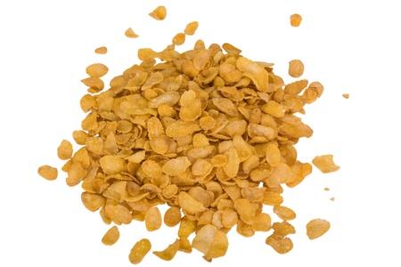 corn flakes: Close-up de flocons de ma�s