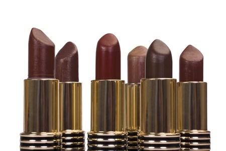 Close-up of assorted lipsticks Stock Photo - 10237171