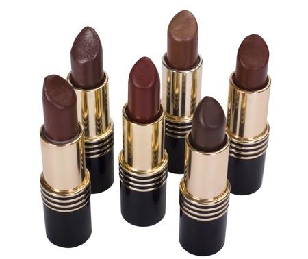 Close-up of assorted lipsticks Stock Photo - 10240154