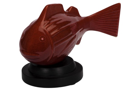 showpiece: Close-up of a fish shaped showpiece Stock Photo