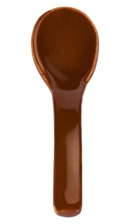 soup spoon: Close-up di un cucchiaio da minestra