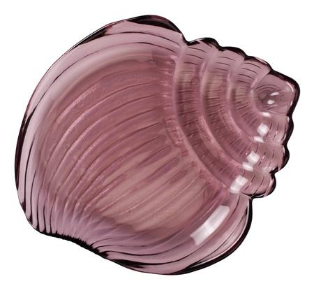 Close-up of a shell shaped tray Reklamní fotografie