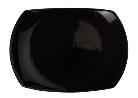 Close-up of a black tray photo