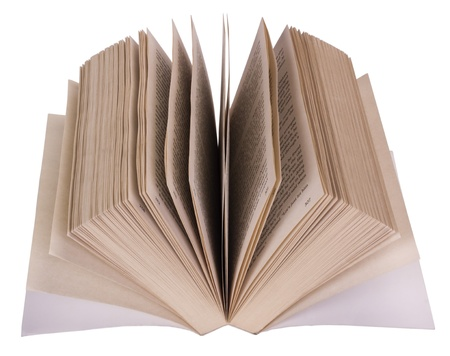 resourceful: Close-up of an open book