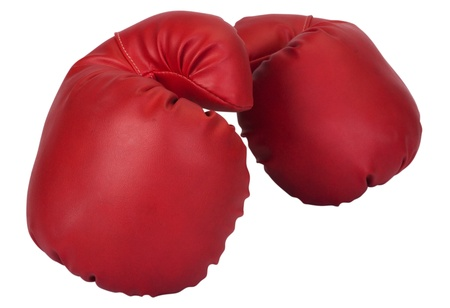 Close-up of a pair of boxing gloves Stock Photo - 10237851