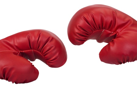 Close-up of a pair of boxing gloves photo