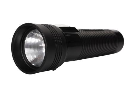 Close-up of a flashlight