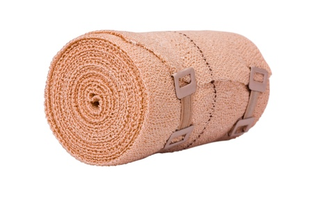 Close-up of a rolled-up bandage Stock Photo - 10239080