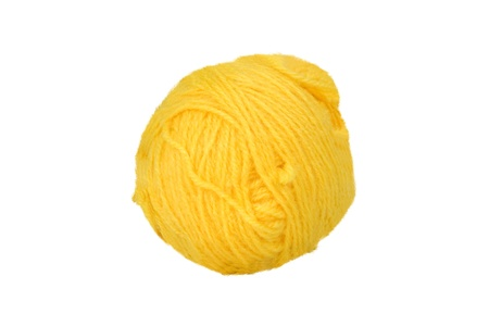 Close-up of a ball of wool