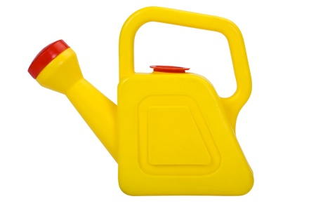 Close-up of a watering can photo