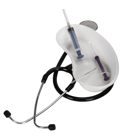 Close-up of medical equipment photo