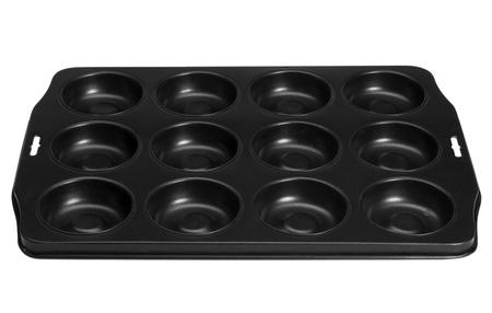 Close-up of a black serving tray Reklamní fotografie