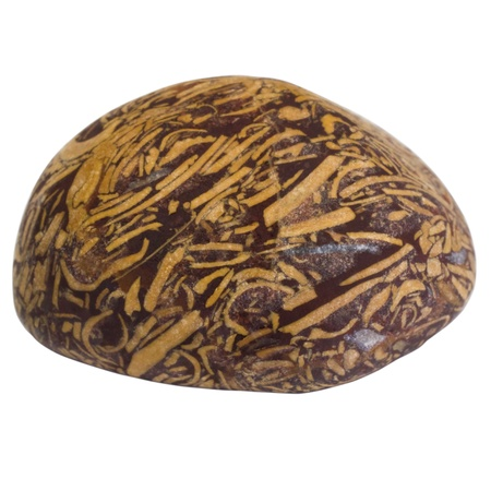 showpiece: Close-up of a decorative stone Stock Photo