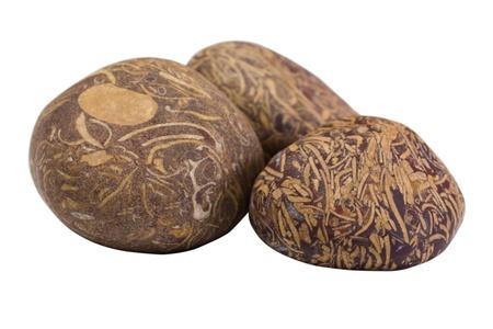 showpiece: Close-up of decorative stones