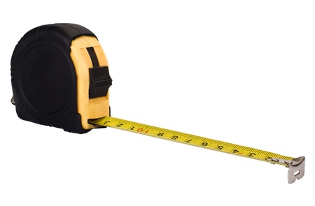 Close-up of a tape measure Stock Photo - 10234824