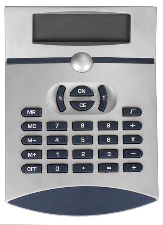 Close-up of a calculator Stock Photo