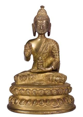 male likeness: Primer plano de una estatuilla de Buda