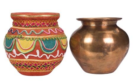 studio b: Close-up of two kalashes