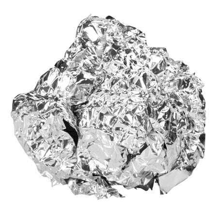 foil: Close-up of an aluminum foil