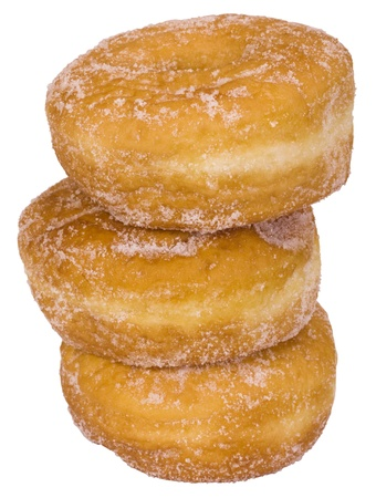 Close-up of stack of donuts photo
