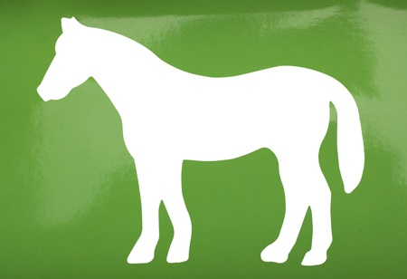 Silhouette of a horse