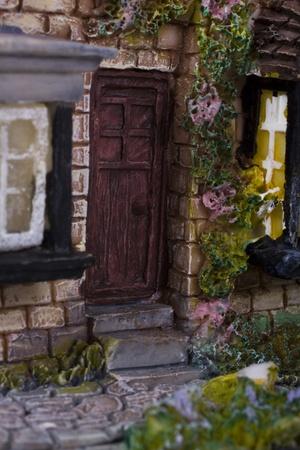 showpiece: Close-up of a model home