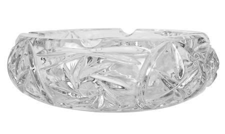 showpiece: Close-up of a crystal ashtray