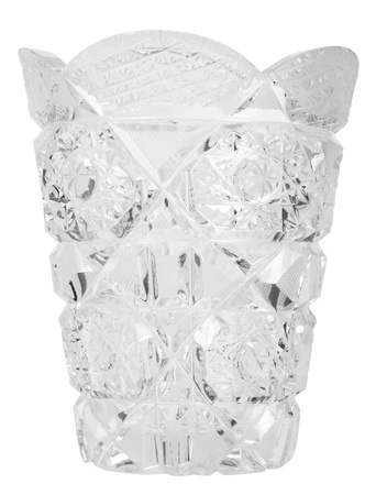 showpiece: Close-up of a crystal glass