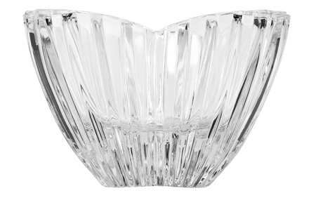 showpiece: Close-up of a crystal bowl