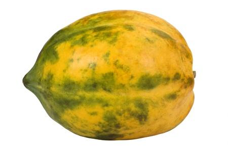 Close-up of a papaya