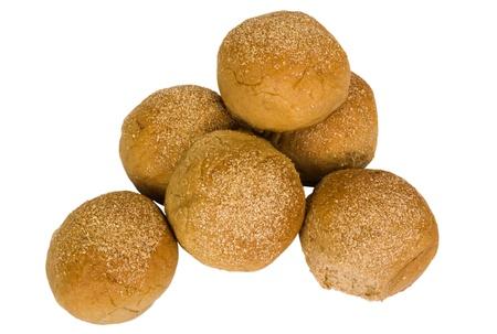 Close-up of a heap of buns