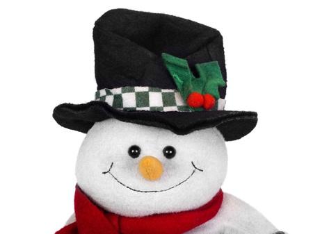 Stuffed snowman toy photo