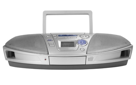 cd player: Close-up of a stereo CD Player