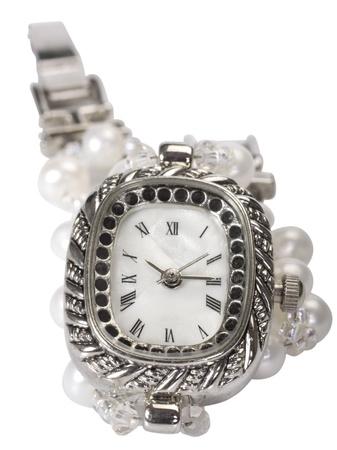 Close-up of a wristwatch photo
