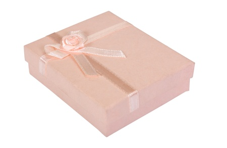 Close-up of a gift box Stock Photo - 10236176