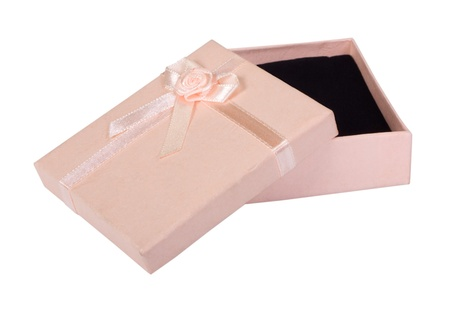 Close-up of an empty gift box Stock Photo - 10236203
