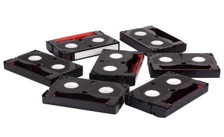 videocassette: Gran �ngulo visi�n de cintas de v�deo