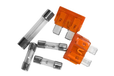 Close-up of fuses