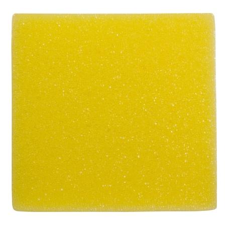 rectangle: Close-up of a rectangle shaped bath sponge