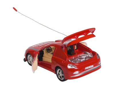 Close-up of a remote controlled toy car photo