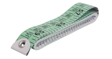 Close-up of a tape measure photo