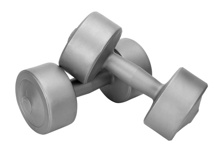 Close-up of dumbbells photo