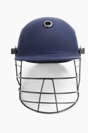 Close-up of a cricket helmet Stock Photo - 10237536