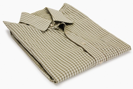 Close-up of a folded shirt