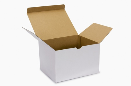 Close-up of a cardboard box Stock Photo - 10236743