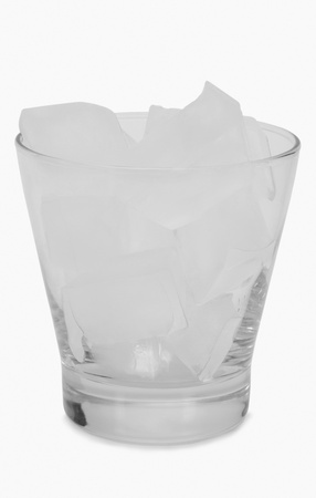 Close-up of ice cubes in a glass Stock Photo - 10236484