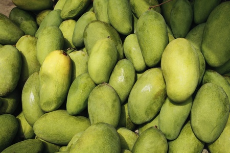 heap: Close-up of mangoes