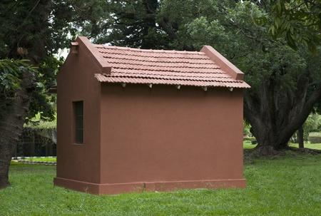 Structure in a botanical garden, Lal Bagh Botanical Garden, Bangalore, Karnataka, India